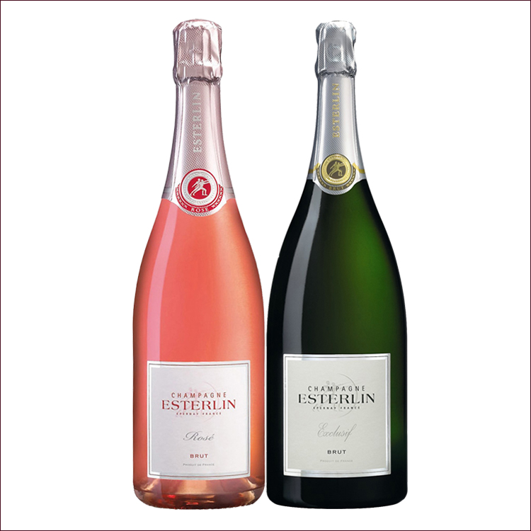 Esterlin brut exclusif champagne - Couleur lin brut ...