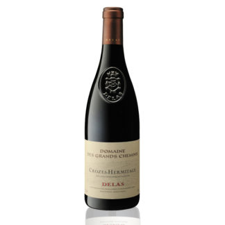 Bouteille vin rouge Crozes-Hermitage Delas
