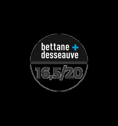 Note Bettane et Dessauve 16,5/20