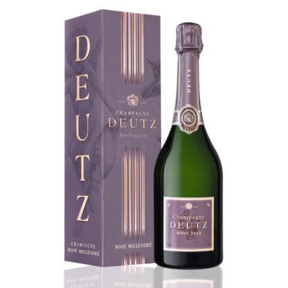 bouteille champagne deutz rosé millésimé