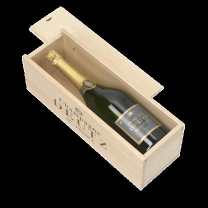 champagne deutz caisse bois