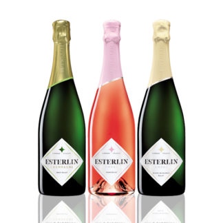 Trio bouteilles Champagne Esterlin