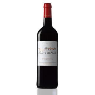 bouteille vin chateau haute libarde