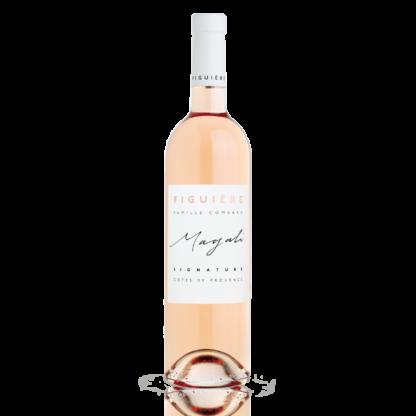Bouteille vin rosé Magali Saint André
