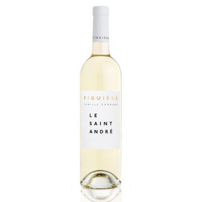 Bouteille vin blanc Saint André Figuière