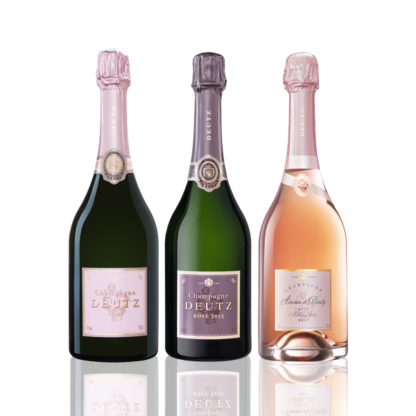 coffret champagne rosé deutz