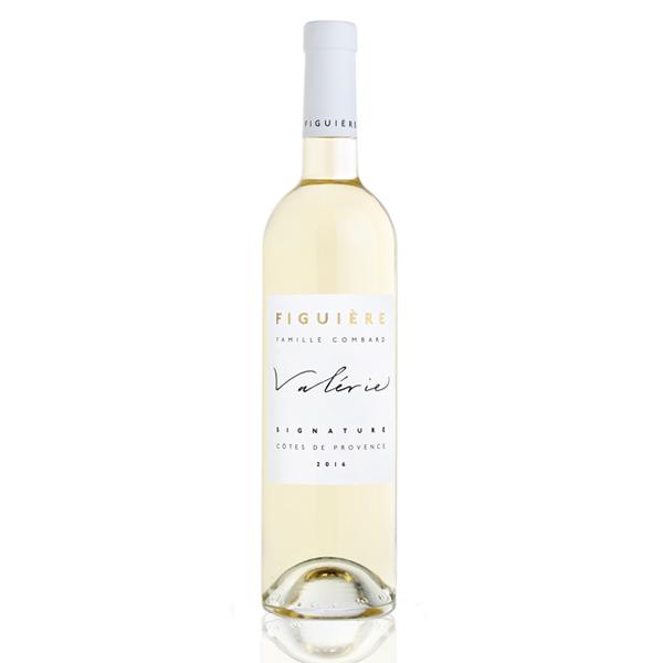 Bouteille vin blanc Figuière Valérie