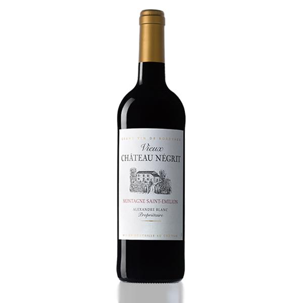 bouteille vin chateau vieux negrit