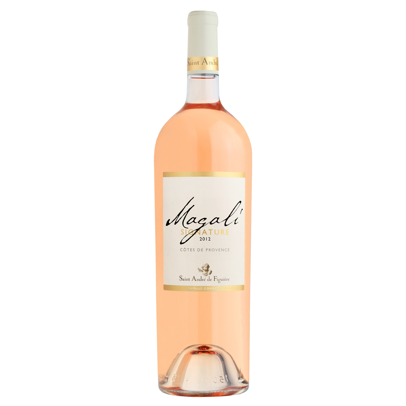vin rose saint andre magalie bouteille