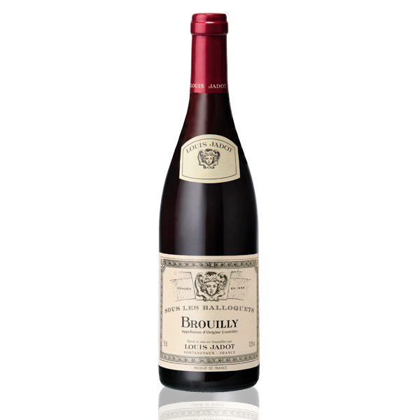 Bouteille vin Brouilly Balloquet Jadot