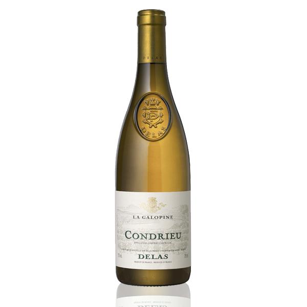Bouteille vin blanc Delas Condrieu