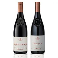 Coffret 2 bouteilles Grignan Ventoux