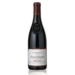 Bouteille vin rouge Gigondas Delas