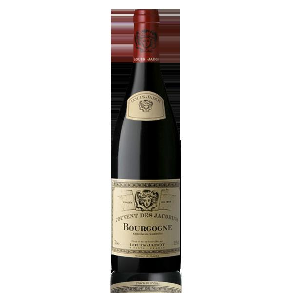 Bouteille vin rouge Bourgogne Louis Jadot