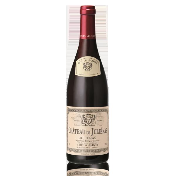 Bouteille vin Chateau Julienas Beaujolais