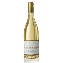 Bouteille vin blanc Delas Muscat