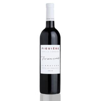 Bouteille vin rouge Saint André François