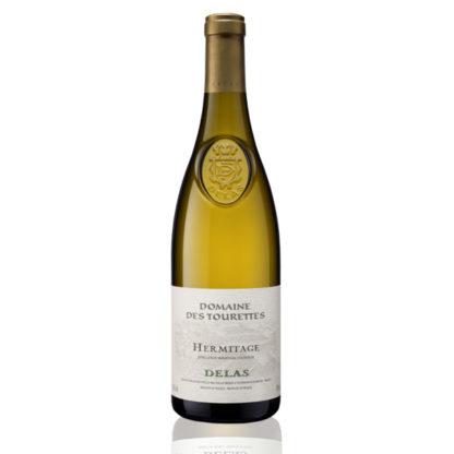 Bouteille vin blanc Delas Hermitage