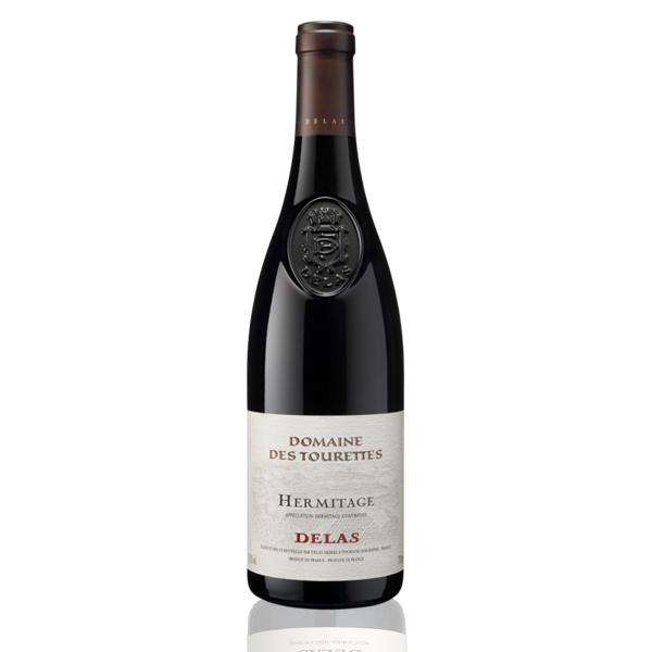 Bouteille vin rouge Hermitage Delas