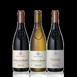 coffret vin vallée du rhone