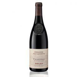 Bouteille vin rouge Vacqueyras Delas