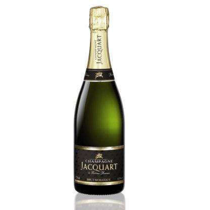 bouteille champagne jacquart mosaique