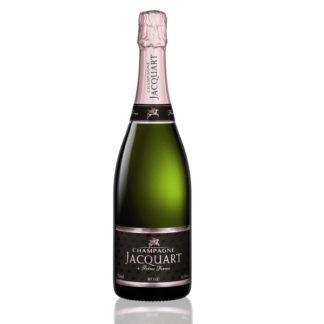 bouteille champagne jacquart rosé
