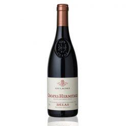 bouteille vin delas launes rouge