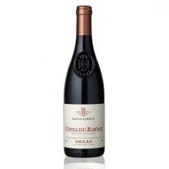 bouteille vin saint esprit rouge delas