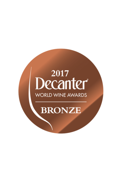 médaille bronze decanter 2017