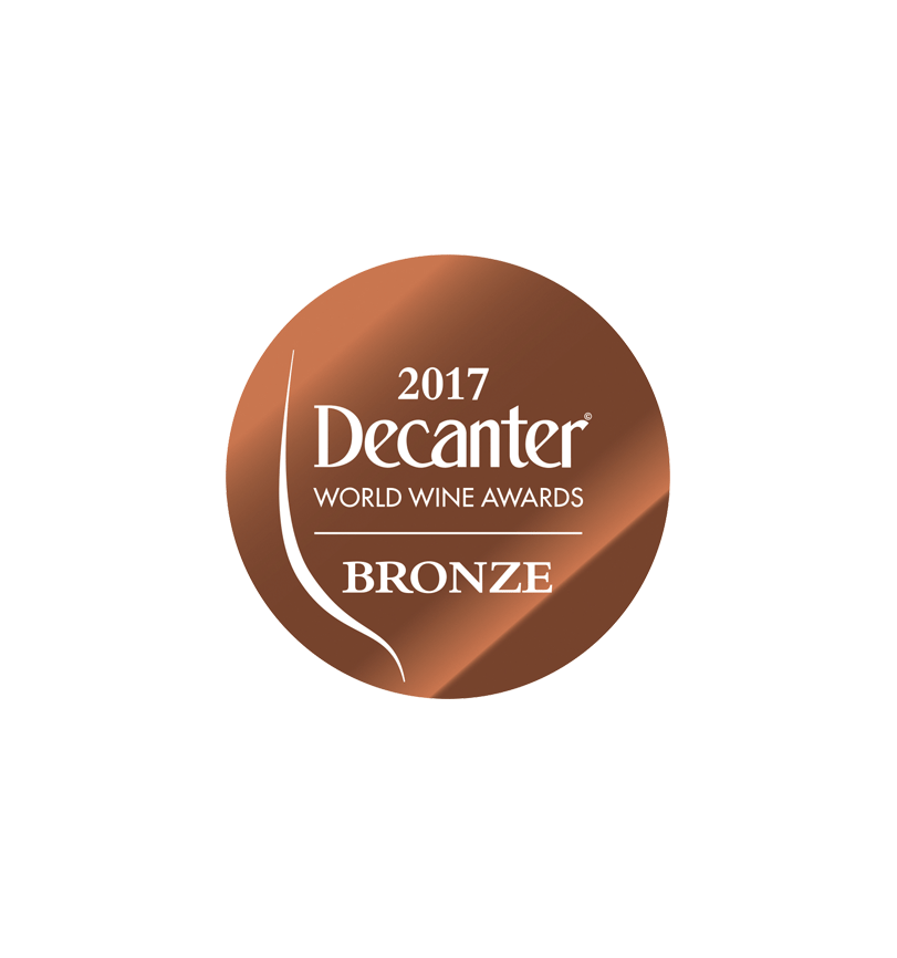 médaille bronze decanter 2017