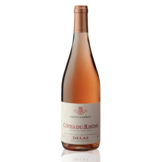 Bouteille vin rosé Saint Esprit Delas