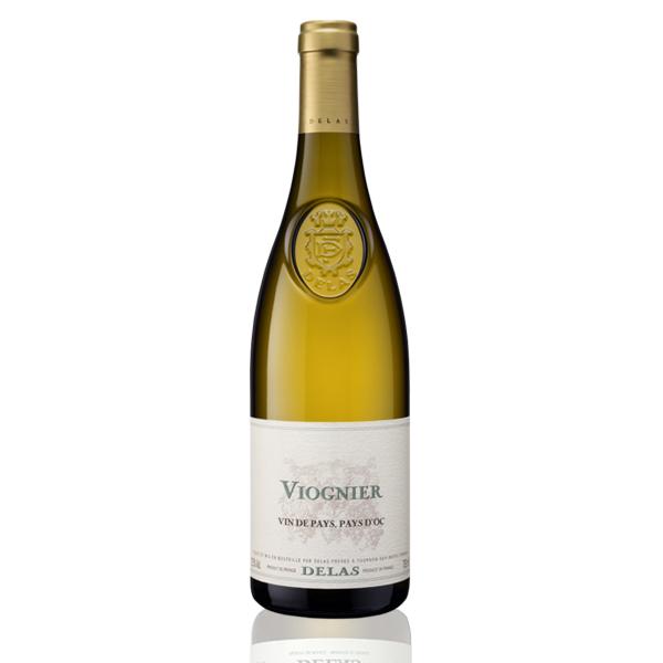 Bouteille vin blanc Delas Viognier