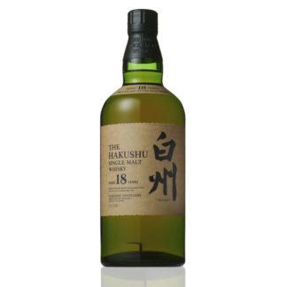 bouteille whisky hakushu 18 ans