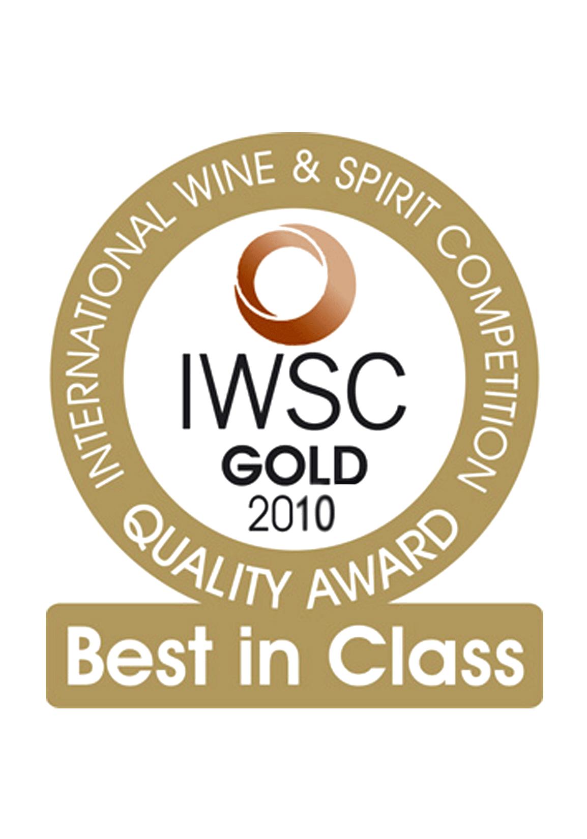 iwsc gold 2010
