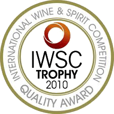 medaille iwsc trophy 2010