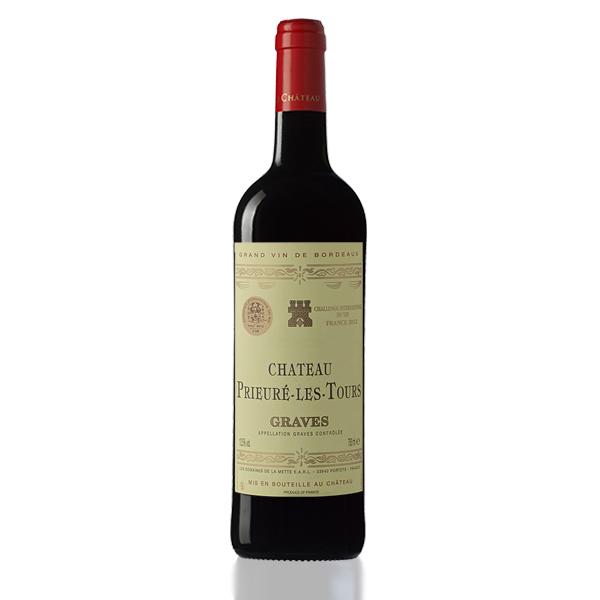 bouteille vin prieure les tours