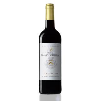 bouteille vin franc coutelin