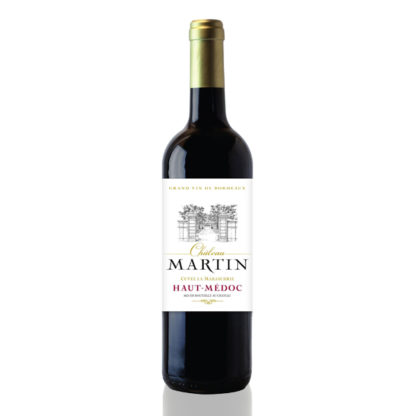 bouteille vin chateau martin marsaudrie