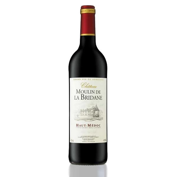 bouteille vin chateau moulin bridane