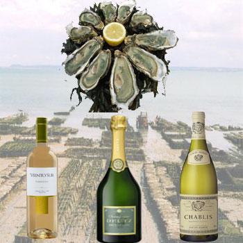 Vin et huîtres