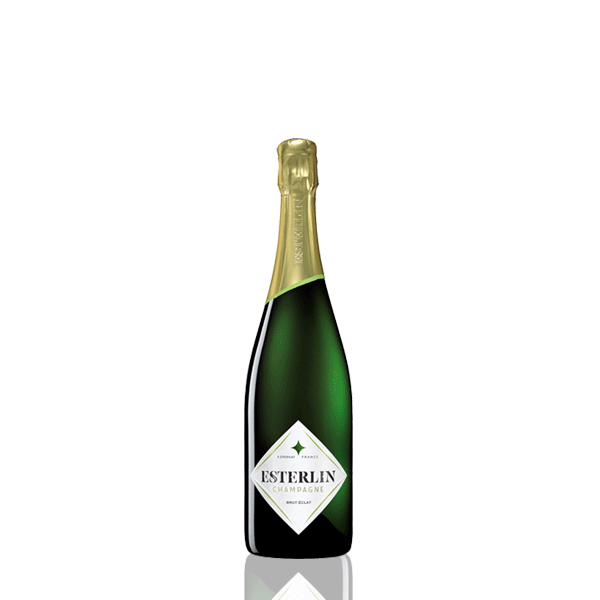 Demie bouteille champagne Esterlin Brut