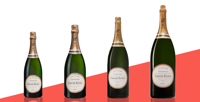 Taille bouteille vins champagnes