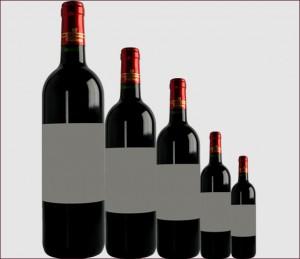 Les tailles de bouteilles de Vin