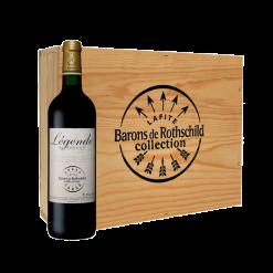 Coffret 3 bouteilles Rothschild