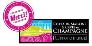 patrimoine mondial Unesco coteaux maison caves champagne