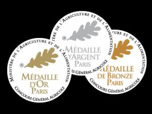 concours dans le vin médailles