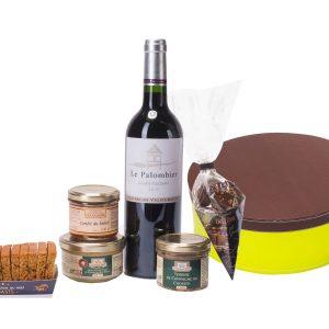 coffret gastronomique foie gras terrines vin