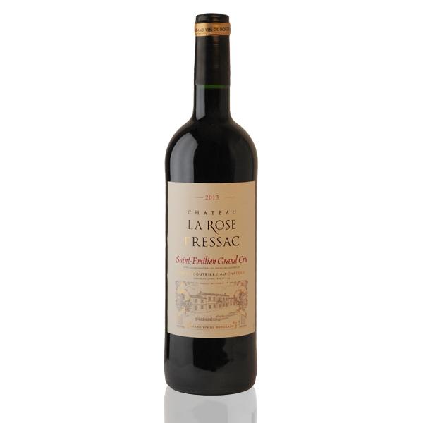 Bouteille vin rouge Rose Pressac