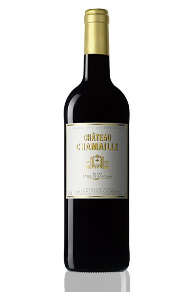Bouteille vin rouge Chateau Chamaille